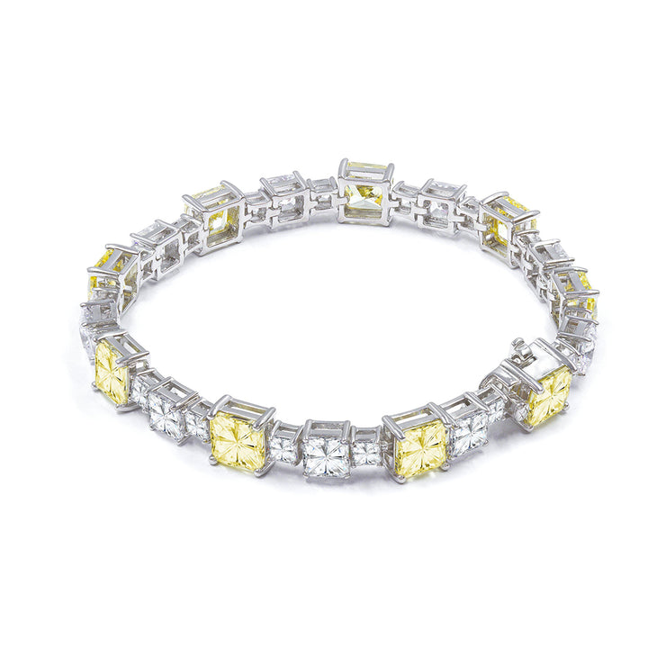 Diana 17 Bracelet Canary Yellow - Anna Zuckerman Luxury Bracelets