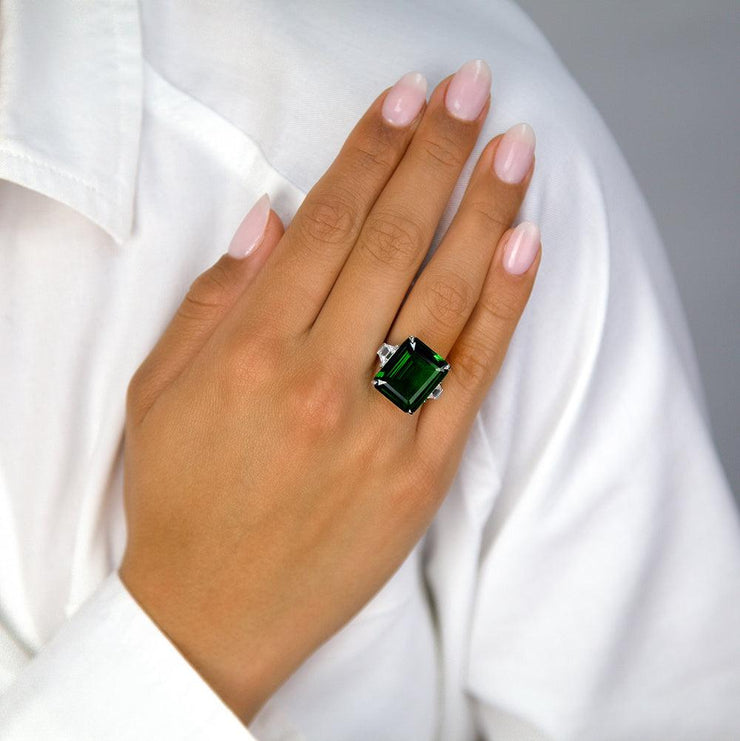 Grace 30 Ring - Anna Zuckerman Luxury Ring
