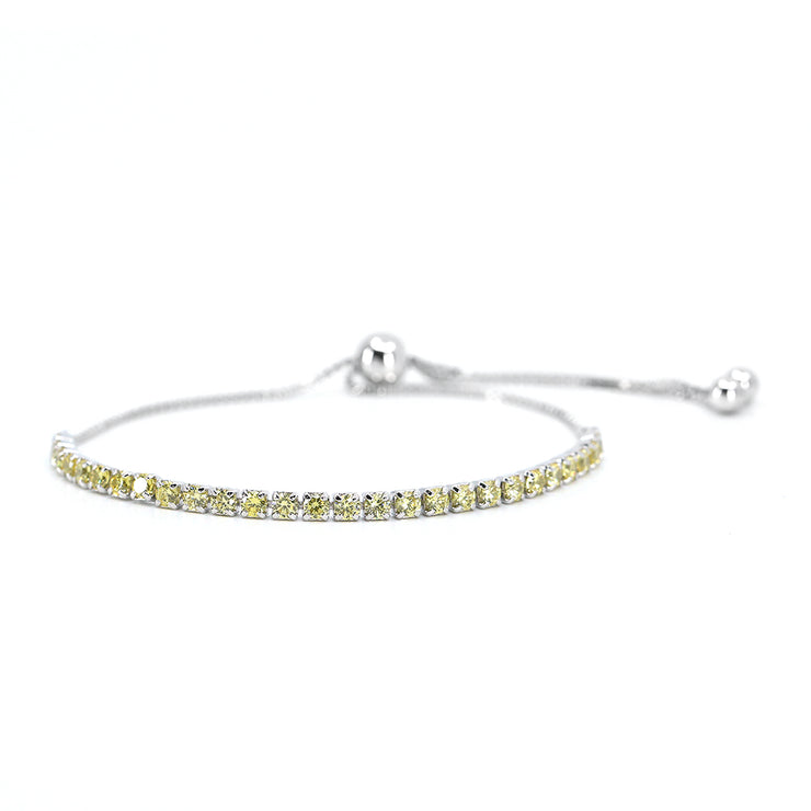 House of Zuckerman 51 Classic Bolo Vivid Yellow - Anna Zuckerman Luxury Bracelets
