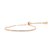 House of Zuckerman 43 Dainty Bolo Rose - Anna Zuckerman Luxury Bracelets
