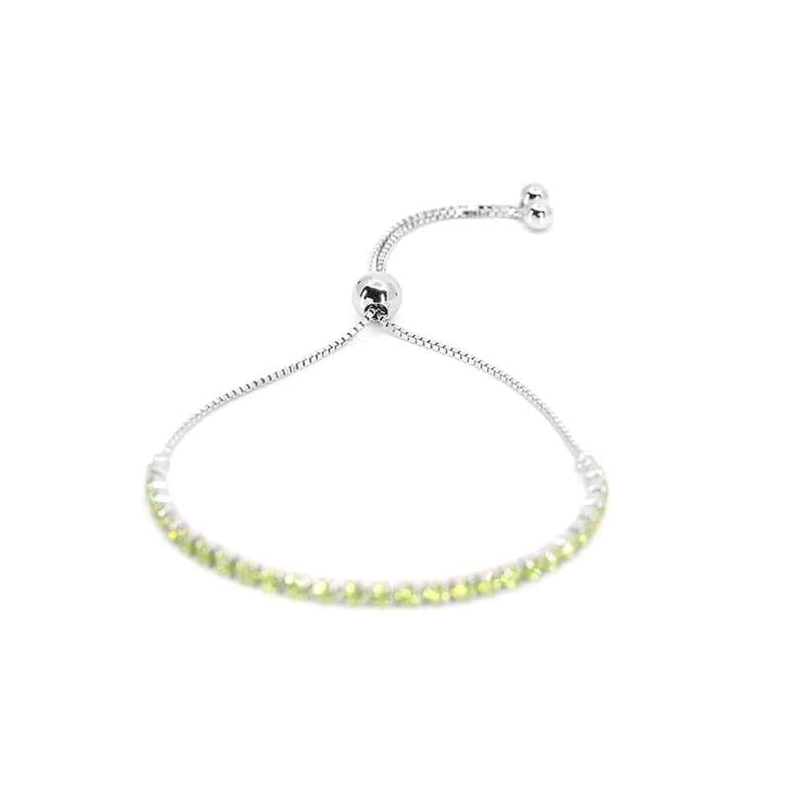 House of Zuckerman 56 Classic Bolo Granny Smith - Anna Zuckerman Luxury Bracelets