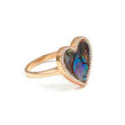 House of Cards Ring - Anna Zuckerman Luxury #metal-color_rose