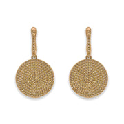 Olivia 09 Earring Diamond White - Anna Zuckerman Luxury