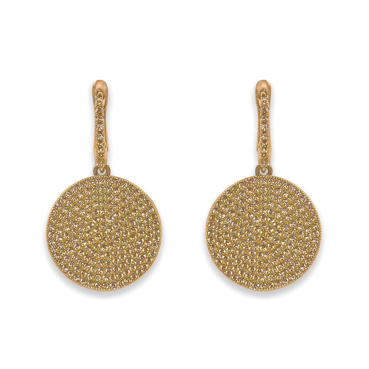 Olivia 09 Earring Diamond White - Anna Zuckerman Luxury Earrings