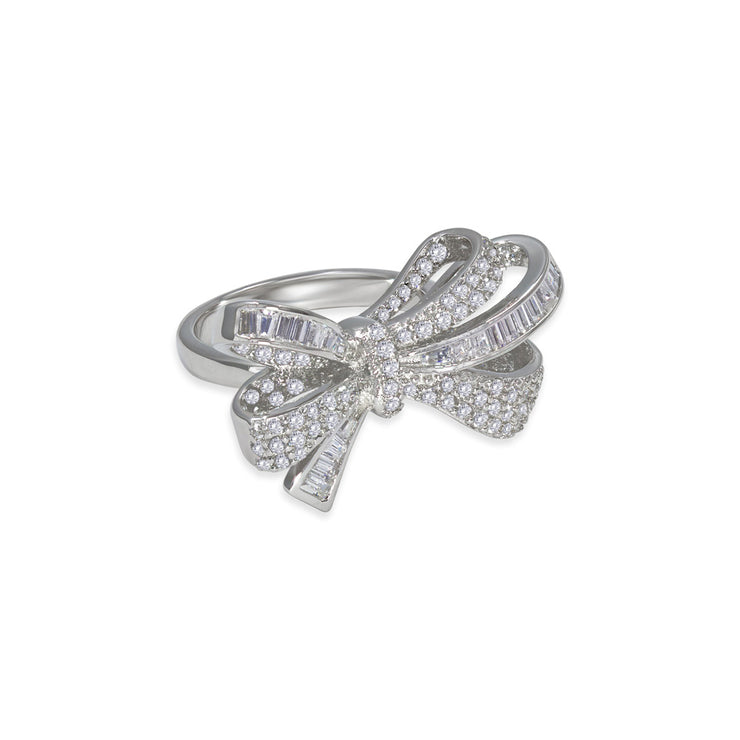 Olivia 04 Ring Diamond White - Anna Zuckerman Luxury