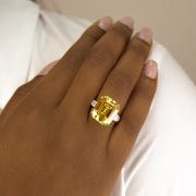 Arabella 01 Ring - Anna Zuckerman Luxury #color_canary-yellow