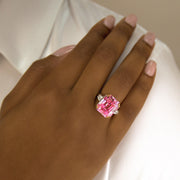 Arabella 01 Ring - Anna Zuckerman Luxury #color_argyle-pink