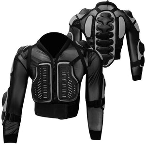 Adult Motorcycle Spine Protector Guard Jackets Motorbike Body Armour