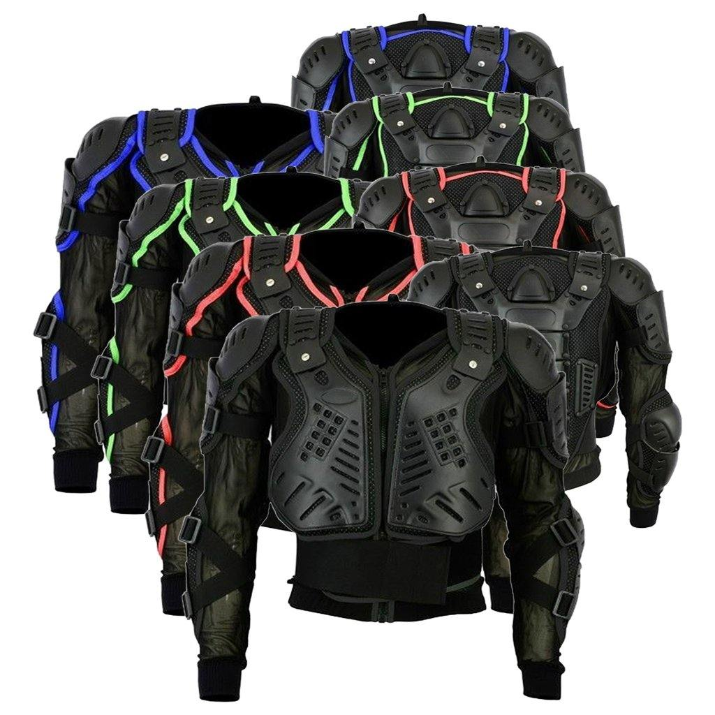 Adult Body Armour Motocross Jacket Chest Spine Elbow Shoulder Protection