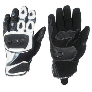 Extra Vented Mesh Knuckle Short Motorbike Gloves