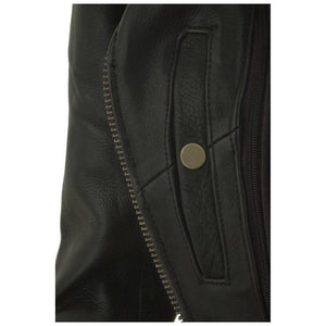 Women's Fitted Classic Motorcycle Jacket