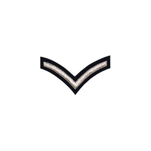 imperial-highland-supplies-1-stripe-chevron-badge-silver-bullion-on-dark-blue