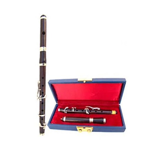 imperial-highland-supplies-Bb-ebony-wood-marching-flute-high-pitch-with-tuning-slide-head-5-Keys