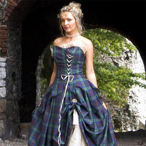 imperial-highland-supplies-bella-tartan-wedding-dress-close-1