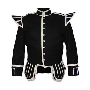 imperial-highland-supplies-black-melton-wool-doublet-with-silver-braid-and-piping