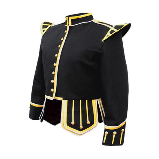 imperial-highland-supplies-black-pipe-band-doublet-white-piping-gold-braid