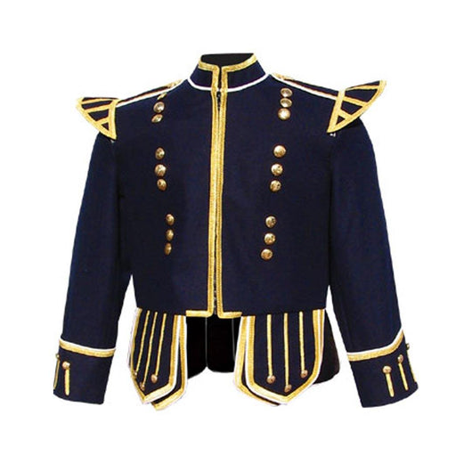 imperial-highland-supplies-dark-blue-pipe-band-doublet-with-gold-braid-trim-and-18-button-zip-front