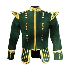 imperial-highland-supplies-green-pipe-band-doublet-with-gold-buttons-and-fancy-scrolling-gold-trim