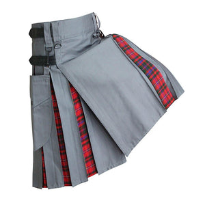 imperial-highland-supplies-grey-hybrid-kilt-with-gow-tartan-front