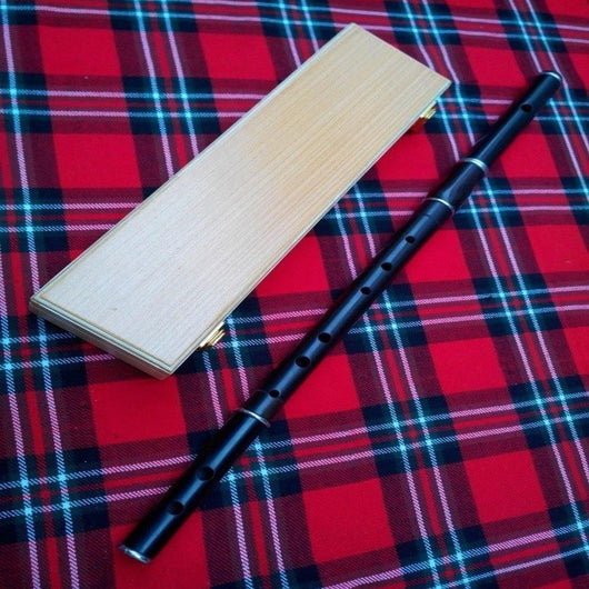 imperial-highland-supplies-irish-D-flute-in-african-black-wood