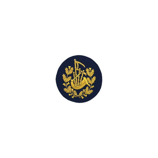 imperial-highland-supplies-pipe-major-badge-gold-bullion-on-dark-blue