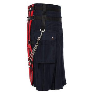 imperial-highland-supplies-red-navy-deluxe-utility-fashion-kilt-side