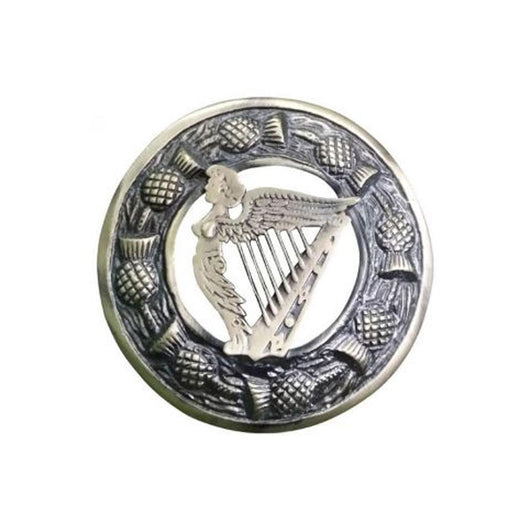 imperial-highland-supplies-scottish-plaid-brooch-antique-finish-celtic-harp
