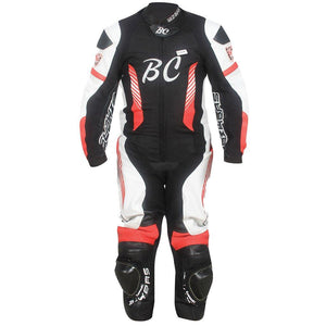 Mens Motorcycle Full Suit CE approved Full Protection Genuine Cowhide Leather
