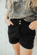 Load image into Gallery viewer, Baby Doll Distressed Denim Shorts