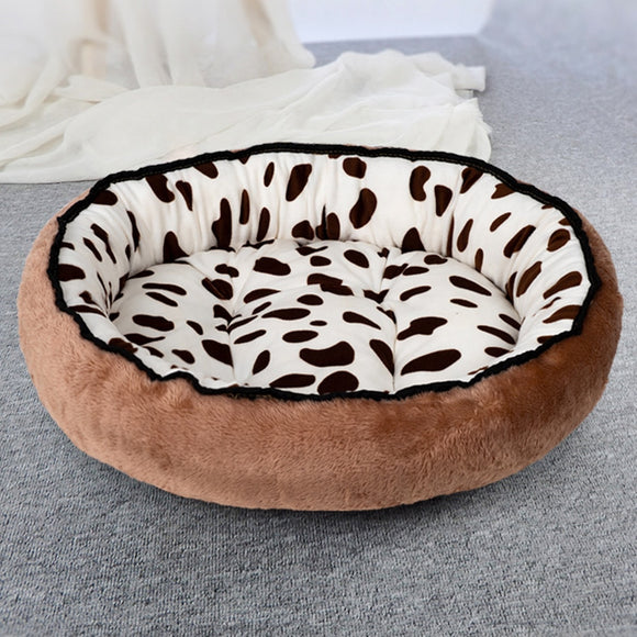 Dog Beds For Large Medium Small Dogs Puppy Labrador Amazingly Cat Marshmallow Washable Round Bed Washable Plush Pet Bed