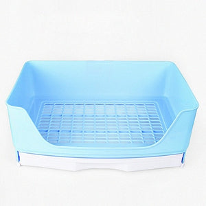 Large Rabbit Toilet Box Trainer Potty Corner Tray Litter with Drawer Pet Pan For Adult Hamster Guinea Pig Ferret Galesaur Bunny