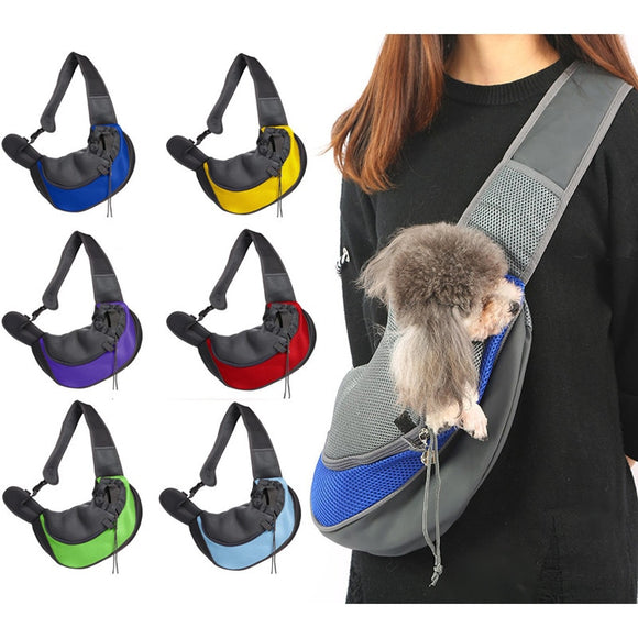 Pet bag cat and dog travel portable messenger shoulder bags breathable mesh pets backpack accessories chihuahua perros acesorios