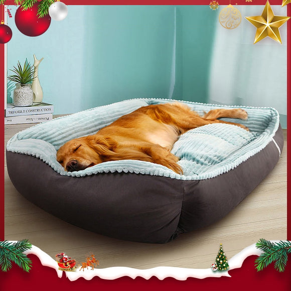 HOOPET Pet Dog Bed Winter Warm Pet bed For Small Medium Large Dog  Bed Labradors House Soft Big Dog Bed