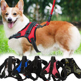 New Dog Soft Adjustable Harness Pet Large Dog Walk Out Harness Vest for Medium Dog Chest Strap Dog Harness Pets Accessories