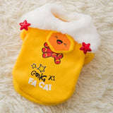 Jacket Dog Clothes Super Small Dogs Clothing Pet Outfits Cute Autumn Winter Cartoon Coat Thicker Chihuahua Boy Ropa Para Perro