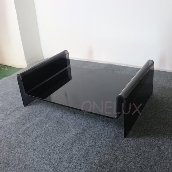 Customized Acrylic Pet Bed For Dogs Or Cats -Clear Black/Cushion Available