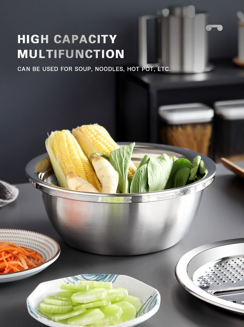 Professional quality, sturdy, 304 stainless steel, no rust, stylish design. A refined mesh that will ensure only the finest grains of flour get through while ensuring no lumps.