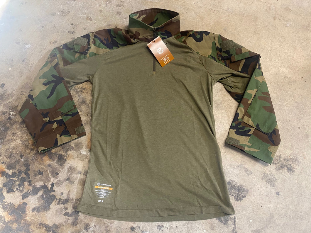 Crye Precision Gen 3 Combat Shirt M81 Woodland