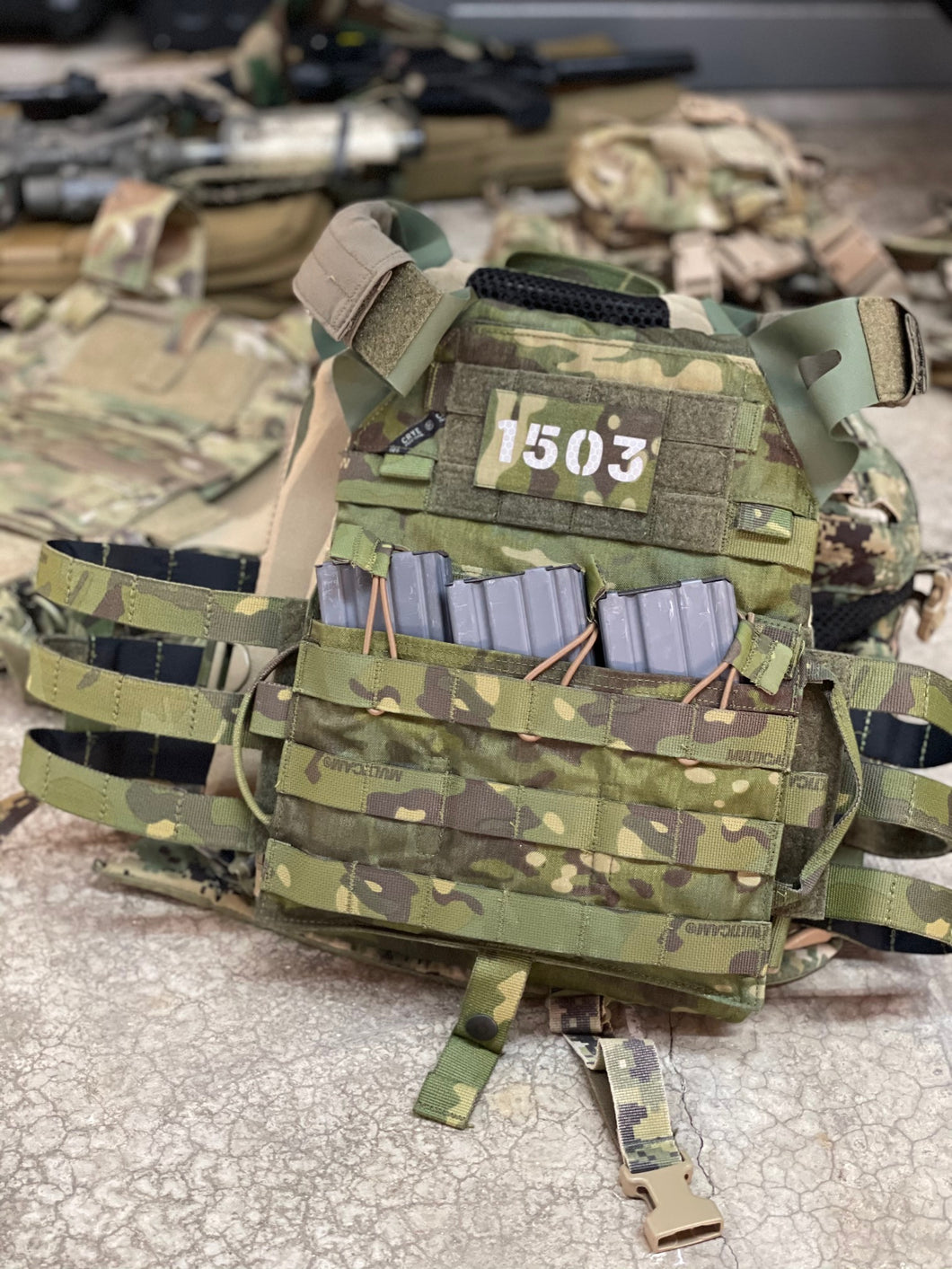 Limited Edition - Crye Precision JPC 2.0 Multicam Tropic (NO FRONT FLAP!)