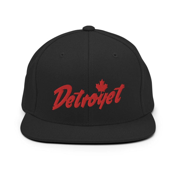 Alternative Hero - Detroyet Premium 3-D Logo Snapback Hat -