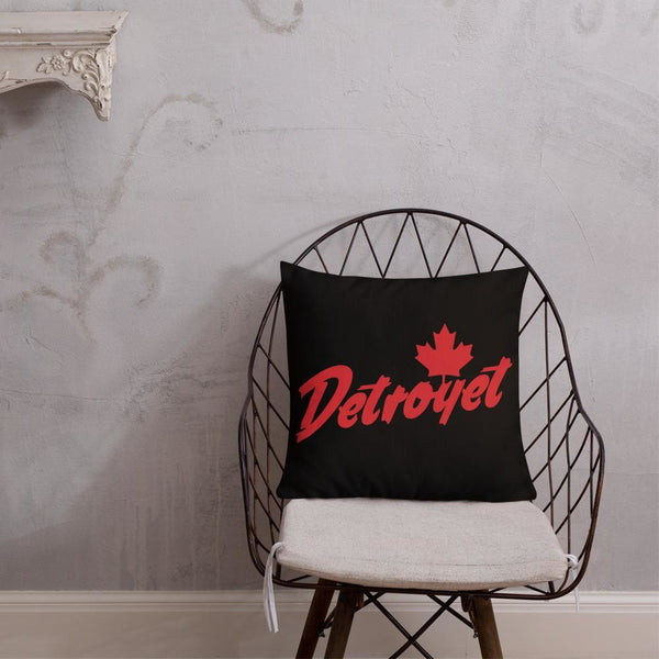 Alternative Hero - Detroyet Premium Pillow - 18×18