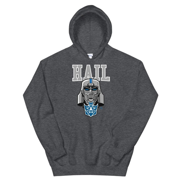 Alternative Hero - Hail Basic Unisex Hoodie - Dark Heather /