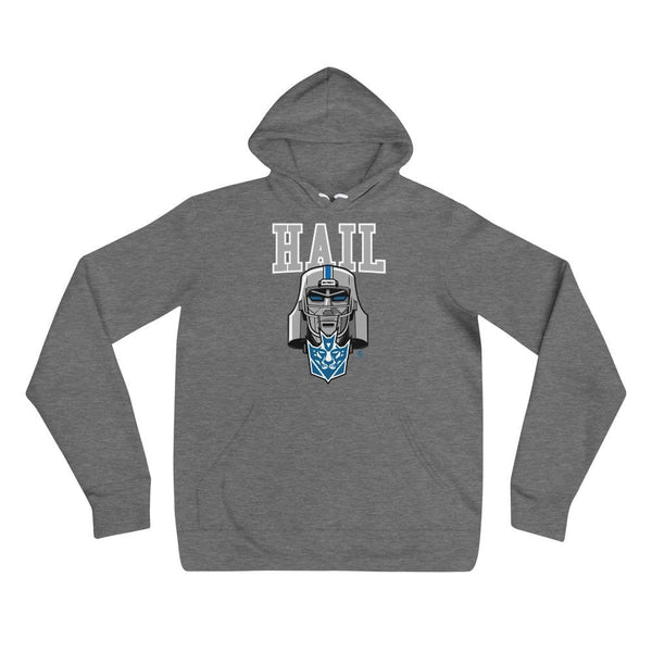 Alternative Hero - Hail Unisex hoodie - Deep Heather / S