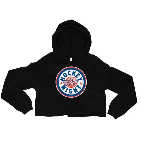 Alternative Hero - Hockey Night in Detroyet Crop Hoodie -