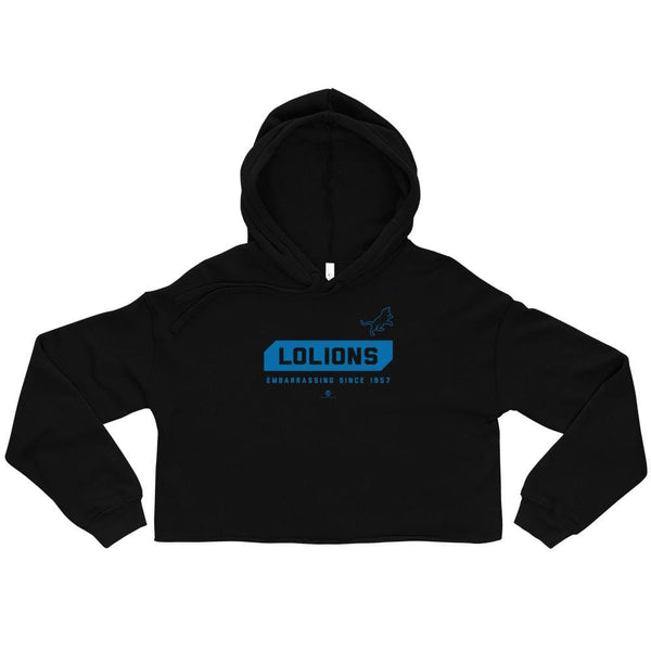 Alternative Hero - LOLions Crop Hoodie - S
