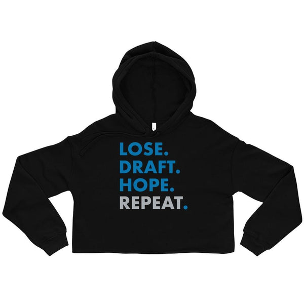 Alternative Hero - Lose. Draft. Hope. Repeat. Crop Hoodie -