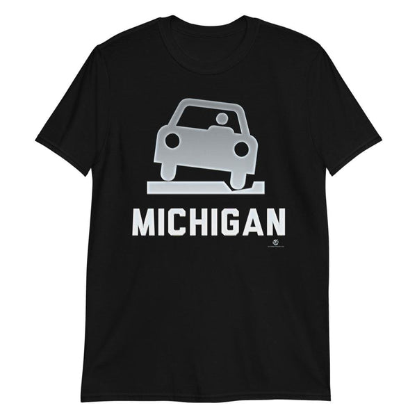 Alternative Hero - Michigan Roads Basic Short-Sleeve Unisex