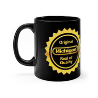 Alternative Hero - Michigan Seal Black mug 11oz - 11oz - Mug