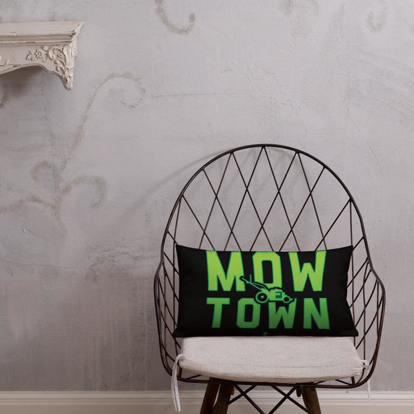 Alternative Hero - Mow Town Premium Pillow - 20×12