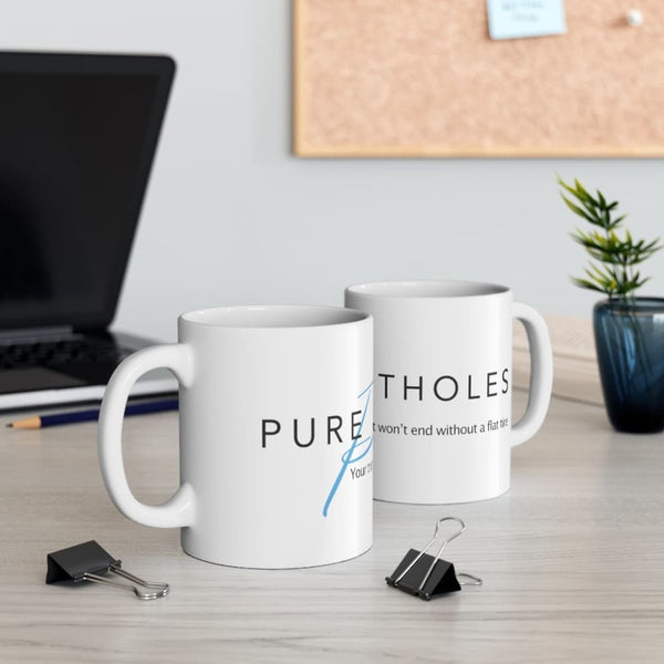 Alternative Hero - Pure Potholes Mug 11oz - 11oz - Mug